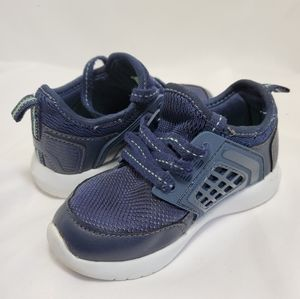 Lace up Toddler Sneaker Navy Blue